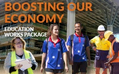 Boosting our Economy: education works package